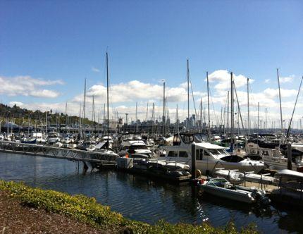 Elliott bay marina photo northwest wining and dining downtown seattle website link