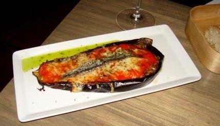 Txori Eggplant makes a tummy-filling dish.