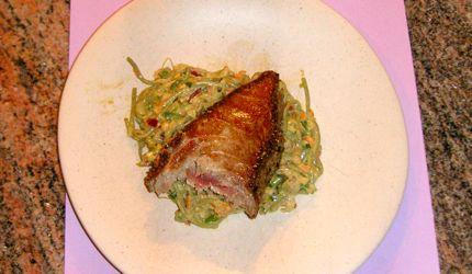 Coriander-Crusted Albacore Tuna
