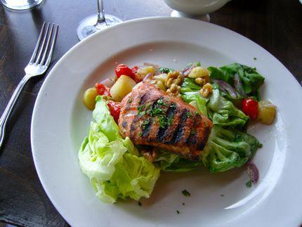 Maximilien Salmon Salad