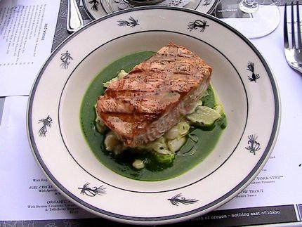 Steelhead Diner Grilled Alaskan Salmon