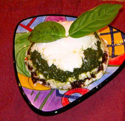 Sun-Dried Tomato and Pesto Torte