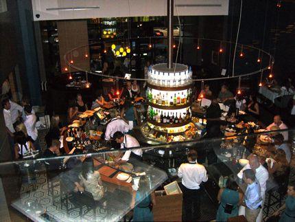The Interior at Coast Restaurant