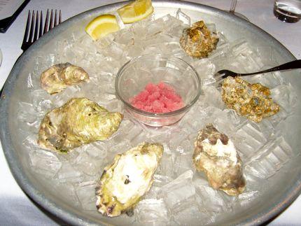 Flying Fish Oyster Shells