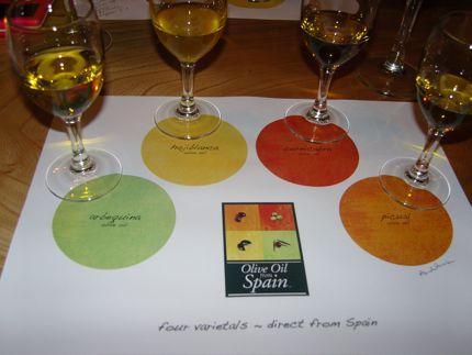 Spanish Olive Oil Tasting