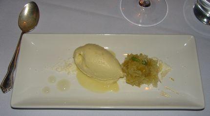 Spur Gastropub Olive Oil Ice Cream!