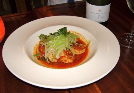 Trellis Spicy Harissa Shrimp