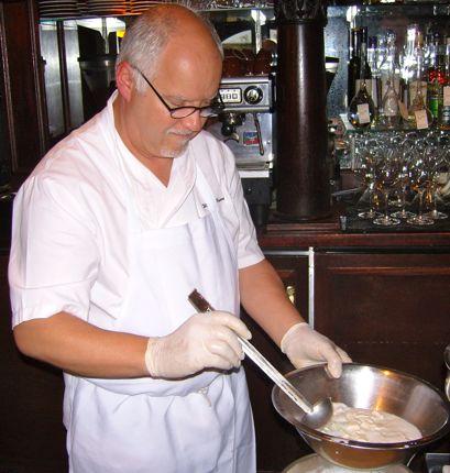 Walter Pisano Making Mozzarella
