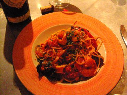 Il Fornaio Seafood Pasta