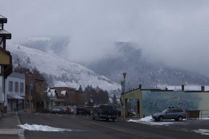 White Salmon Downtown Scene