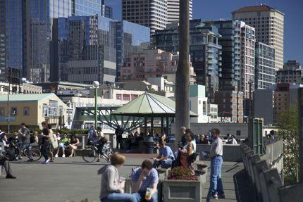 Pike Place Market Scene