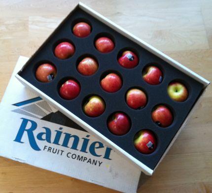 Lady alice apples rainier fruit photo