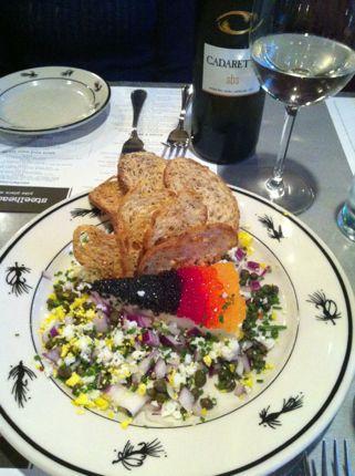 Steelhead Diner Caviar Pie