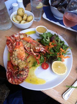 Fresh lobster in Guernsey
